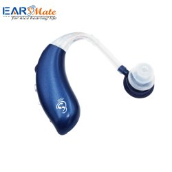 USB Cargador pilas recargables Earsmate Amplificador de audición Audífonos sordos Sida