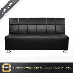 Современные коммерческие кожаный диван ожидания в салон красоты