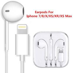 Высокое качество Earpods молнии для iPhone7/8/X/Xs/Xr/Xs Max/iPad