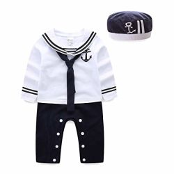 Baby Boy Kleidung Rompers Kinderbekleidung Sommer Sailor