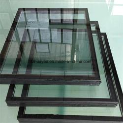 Parete divisoria d'isolamento Tempered di vetro di finestra di vetratura doppia, blocco di vetro/mattone/vetro della costruzione