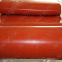 Resistencia al calor de tejido de fibra de vidrio recubierto de silicona ignífuga