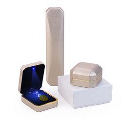 Мода яркие цветные украшения поле органайзера кольца хранения Cute окно небольшой подарок для кольца серьги