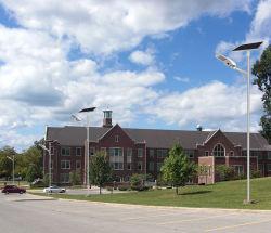 40W de haute qualité de la lampe solaire pour le projet d'éclairage de rue