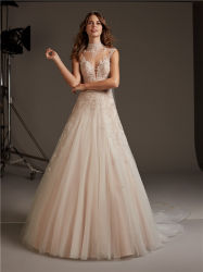 Sexy моды кружево Backless Русалки свадебные платья устраивающих платье