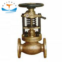 JIS F7399 Marine Cast Steel Water/Gas Fuel Oil Tank Emergency (حالة الطوارئ في خزان وقود الغاز/المياه صمام إغلاق برونزي صمام الإغلاق السريع