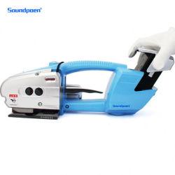 판매를 위한 공구를 견장을 다는 좋은 가격 자동적인 손 전기 배터리 전원을 사용하는 플라스틱 벨트