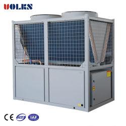 Luft abgekühlte kältere 68kw/100kw/130kw Swimmingpool-/Luft-Quellwärmepumpe/industrieller Wasser-Kühler