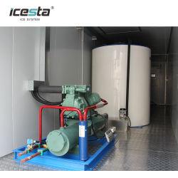 إيكيستا 15 طنا من المياه المالحة الطازجة آلة الثلج في الحصول على المياه السعر