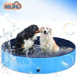 犬の耐久およびFoldable夏の飼い犬のプールのための卸し売り方法プール
