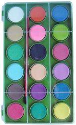 18-Color Water Color Set (YB-2205)
