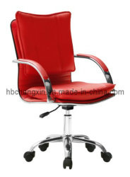 사무실 Leather Chair Swivel Modern와 Hot Sell High Quality Popular Low Back Office Furniture