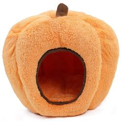 Style doux durable forme de citrouille de Noël de l'Halloween chat chien en peluche Pet chambre