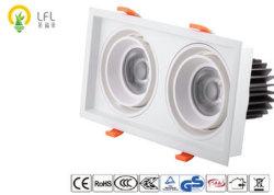 مصباح LED التجاري المشوي بالمشويات المربعة مع شرائح Citizen COB LED 86 فولت - 264 فولت