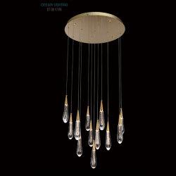 De hete Lamp van de Tegenhanger van het Kristal van de Binnenlandse Verlichting van de Kroonluchter van de Verkoop Moderne