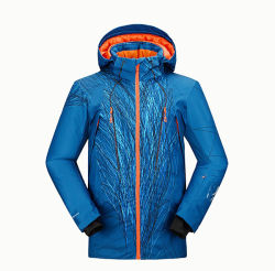 15000 mm poliéster resistente al agua nieve hombres chaqueta de ropa de abrigo de Esquí