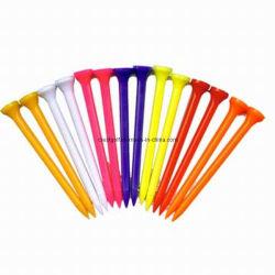 Belo campo de golfe de plástico coloridas Tees para venda