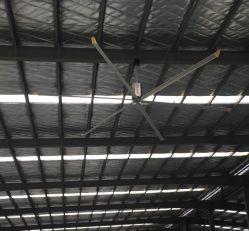 5.5 metros de un gran ventilador de techo industrial utilizado en el 4S TALLER DE AUTOMÓVILES