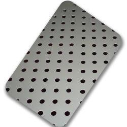 Guter Preis passte Entwurf durchlöcherten Edelstahl-Blatt gelochten Laser-Schnitt-Edelstahl für industrielle Dekoration an