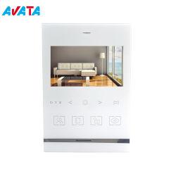 4 Fios 4.3 polegadas Interfone Home Security Campainha Video Doorphone suporta Passagem Aberta/fechadura de porta