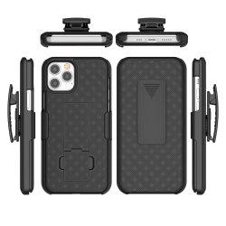 El Clip de cinturón Kickstand Contraportada híbrido combinado funda protectora para iPhone 11 accesorios de móvil para iPhone 12 de 2020