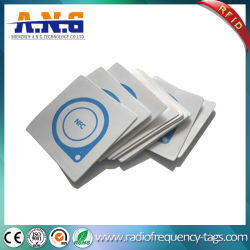 Writable ler etiquetas RFID Hf de papel para a biblioteca reutilizáveis