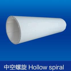 PVC-U tuyau spirale creux à double paroi pour le Drainage