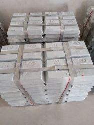 Actory Calidad precio del lingote de metal de zinc para la venta