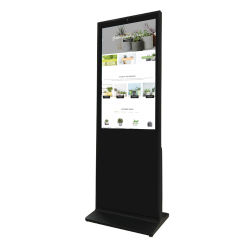China Venda quente HD Preço de Digital Signage de chão com tela sensível ao toque para fora Mall/Station/Supermercado