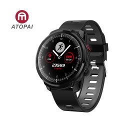 Водостойкий Atopai цифровой Relogio функцию сенсорного экрана раунда Reloj Inteligente новых рейсов 2020 IP66 Smart посмотреть номер телефона