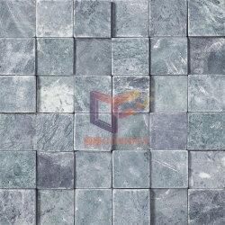 自然な緑の大理石の石造りのモザイク(CFS804)