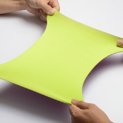 Alta durabilidade tecido Semiextensível Cr SCR esponja SBR Folha em neoprene para Neoprene