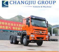 Gebruikte Sinotruck HOWO 336 371 420 pk Tractor Head 6X4 6X2 10 Wheel Drive Tractor Truck te koop
