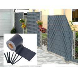 발코니 프라이버시 PVC 스크린 담 PVC 방어 지구 스크린 정원 담