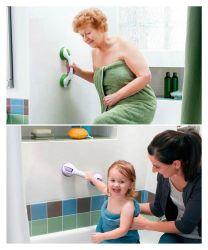목욕탕에 있는 돕는 손잡이 아이들과 연장자를 위한 손잡이 그립 안전 샤워실을 샤워하기 위하여
