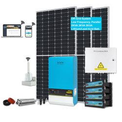 نظام اللوحة الشمسية TBB بقدرة 3 كيلو واط، 5 كيلو فولت أمبير، التطبيق المنزلي متعدد الاكتمال نظام الطاقة الشمسية الصفحة الرئيسية