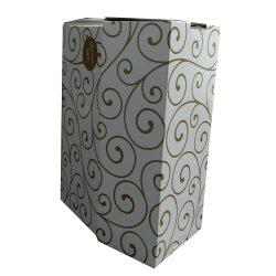 Contenitore di carta di lusso di imballaggio del regalo della decorazione da vendere