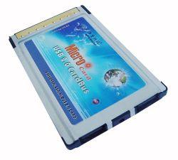CardBus aan Adapter USB2.0 (2 Havens Ports/4) (ht-210NEC01)