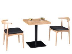 Festes Holz-Stuhl und Tisch-Gaststätte-Möbel, die Möbel-Set speisen