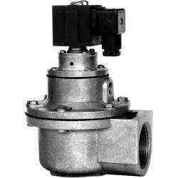 Faible prix 24V 110V 220V 230V AC DC 3/4 1 1,5 2 2,5 3 pouces 2/2 voies à jet d'impulsion normalement fermé en aluminium de la poussière la soupape à diaphragme