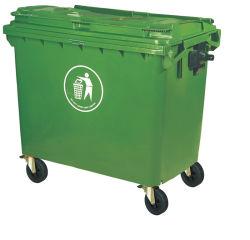 Im Freien aufbereitendes überschüssiges Sortierfach-Plastikmülleimer-Plastikabfall-Sortierfach 1100L