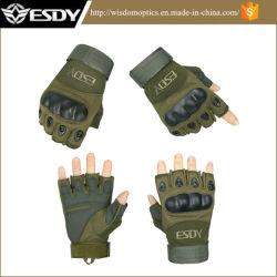 Тактические Airsoft половины цикла пальцев охота военных армии перчатки