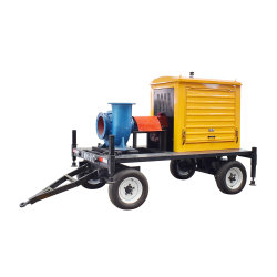 30kw Pompe à eau Diesel Remorque mobile