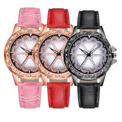 2019 Don montres à quartz en alliage de tourner le cadran rotatif Mesdames montre-bracelet