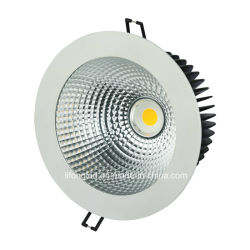 セリウムRoHS SAAが付いているLEDの外部ドライバー円形の表面Embeded LED Downlightが付いている18-40Wクリー族の穂軸チップ