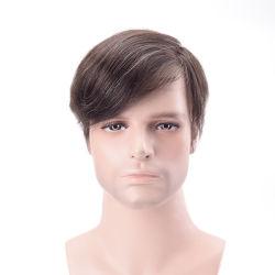 수술용 천연 머리카락 없는 맞춤 제작 스위스 레이스 프론트