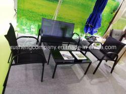 4 parti di Textilene della mobilia esterna stabilita della Tabella