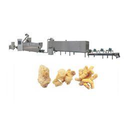 Proteína de soja carne vegetarianas Nuggets máquina de fazer a linha de processamento