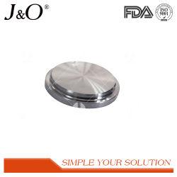 Mesures sanitaires de qualité alimentaire en acier inoxydable Raccords de tuyauterie à virole aveugle 3A-16 Capuchon blanc