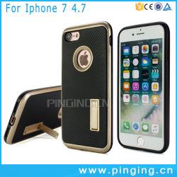 Ajuste fino de suporte de pára-choques de Disco Rígido Híbrido Antichoque Estojo para iPhone 6s & 7plus